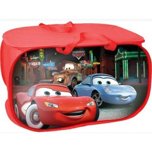 Baul guarda juguetes Rayo McQueen Cars Disney