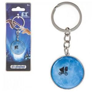 E.T. metal keychain