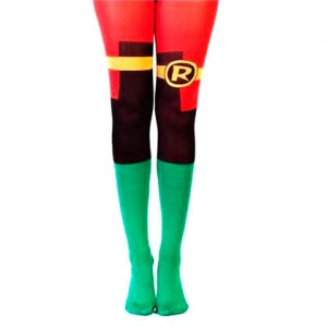 DC Comics Robin suit-up girls tights