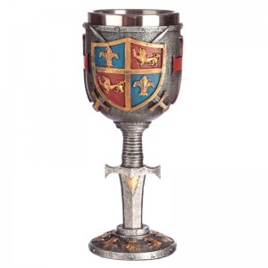 Coat of Arms and Sword goblet