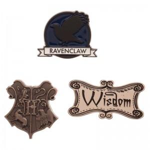 Harry Potter Ravenclaw pin set