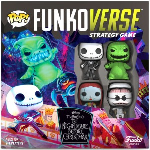 POP Funkoverse English board game Nightmare Before Christmas 4pcs