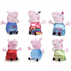 Assorted Peppa Pig Happy Oink plush toy 30cm