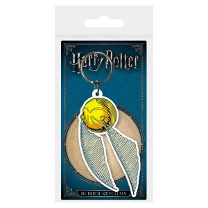 Harry Potter Golden Snitch rubber keychain