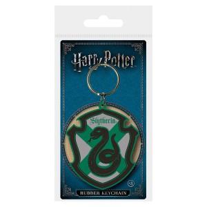Harry Potter Slytherin rubber keychain