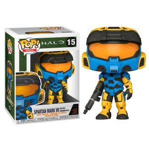 POP figure Halo Infinite Mark VII with Commando Rifle Funko Deco
