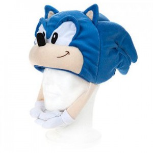 Sonic Classic plush toy hat