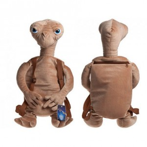 E.T plush toy backpack