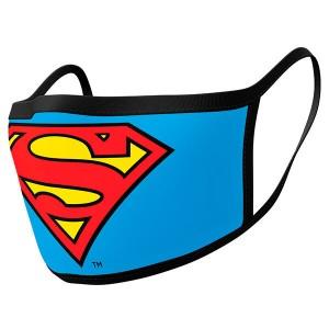DC Comics Superman pack 2 premium reusable mask covers