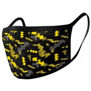 DC Comics Batman Camouflage pack 2 premium reusable mask covers