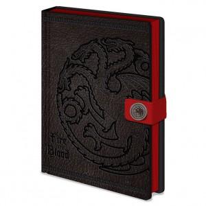 Game of Thrones Targaryen A5 premium notebook