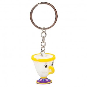 Disney the Beauty and the Beast Chip keychain
