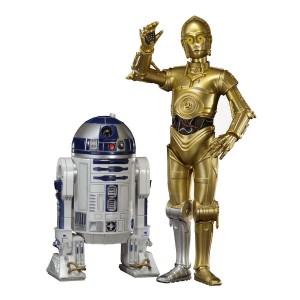 Set 2 figuras C-3PO & R2-D2 Star Wars ARTFX+