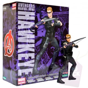 Estatua Hawkeye Vengadores Marvel Now! ArtFX+