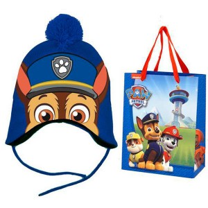 Paw Patrol hat and shopping bag