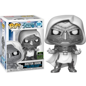 POP figure Marvel Fantastic Four Doctor Doom Exclusive