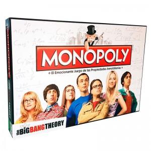 The Big Bang Theory Monopoly spanish game