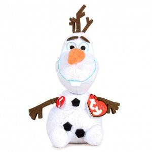 Disney Frozen Olaf TY plush toy with sound 16cm