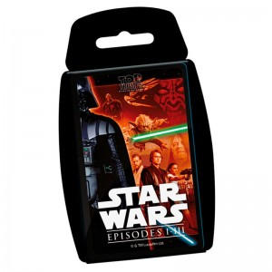 Spanish game Star Wars classic Top Trumps