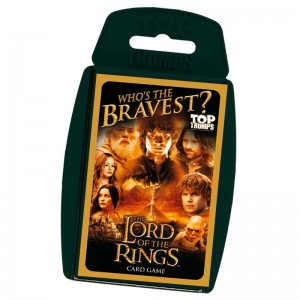Spanish game Lord of the Rings Top Trumps