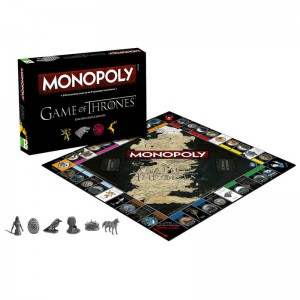 Game of Thrones Monopoly Hasbro Spanish