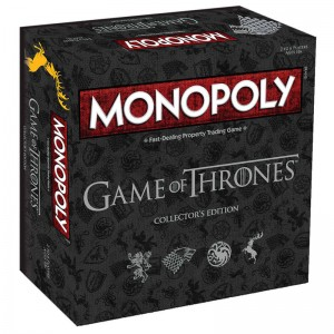 Game of Thrones Collectors Edition Spanish Monopoly Game