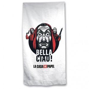 Money Heist Bella Ciao! microfiber beach towel