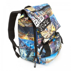 Spirit New York backpack with flap 40cm