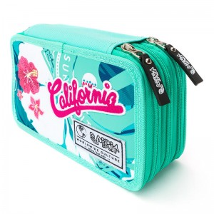 Spirit California Surf triple pencil case