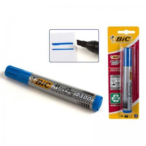 Bic permanent blue marker 2300