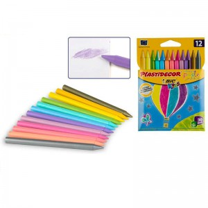 Plastidecor crayons pack of 12