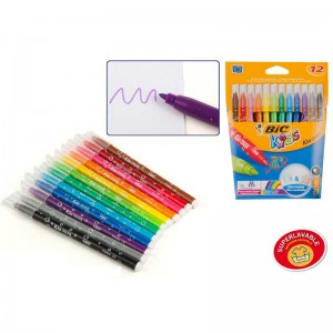 Bic kids marker pen pack of 12
