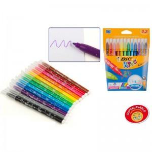 Bic kids marker pen pack of 12