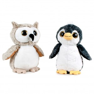 Lulo & Penguin assorted super soft plush toy 28cm