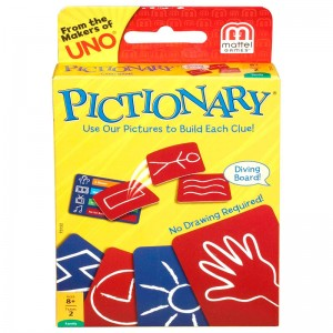 Pictionary Card English game