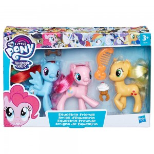 My Little Pony Equestria Friends pack 3 figures 8cm