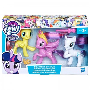 My Little Pony Equestria Friends pack 3 figures