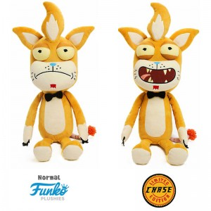 Ricky Morty Squanchy + Chase plush toy 38cm