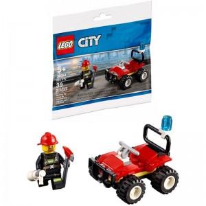 Lego City Fire Quad
