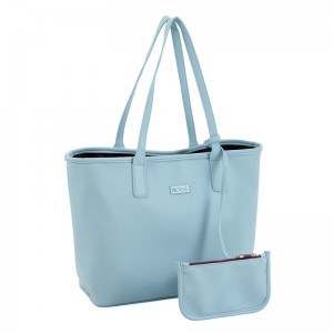 Moos Capsula Blue bag with wallet