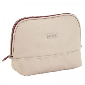 Moos Capsula Beige beauty case