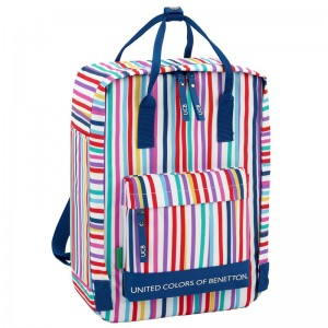 Benetton Color Lines backpack 38cm