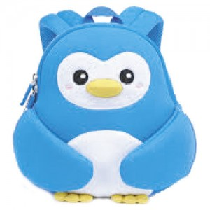 Penguin blue neoprene backpack 30cm