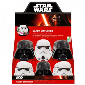 Star Wars candy container