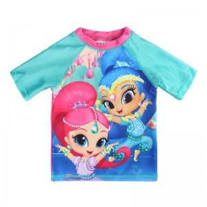 Shimmer and Shine swim tshirt