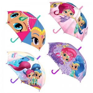 Shimmer and Shine assorted manual umbrella 40cm