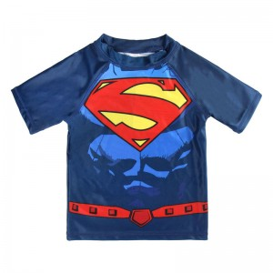 DC Comics Superman swim tshirt