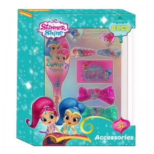 Shimmer and Shine hair accesories set 8pcs