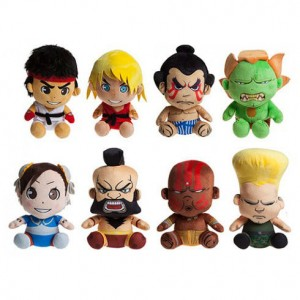 Street Fighter assorted plush toy 25cm