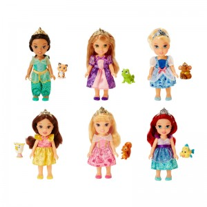 Disney Princess with pet assorted doll 15cm